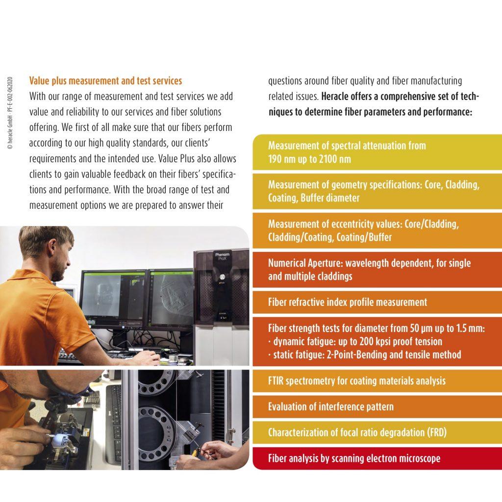 Value plus measurement and test services